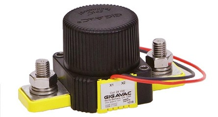 12-800VDC 350 Amp SPST Normally Closed NC<br>Gigavac Contactor