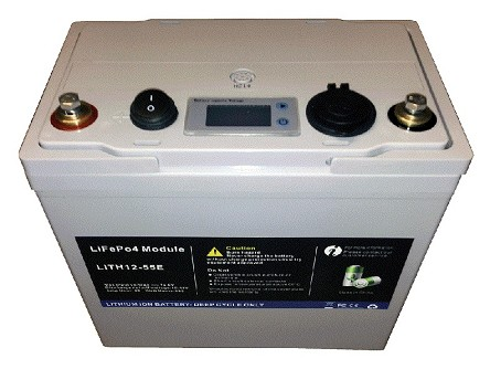 Lithium-ion Battery 12V 55Ah Portable Power System