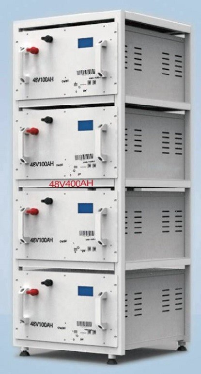 19,200 Watts 19.2kW 48V 400Ah<br>Energy Storage System