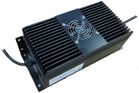 1.8KW / 1800 Watts<br>24V 40A, 36V 40A, 48V 25A,<br>48V 30A, 60V 25A, 72V 15A,<br>72V 20A, 72V 25A, 360V 5A, 360V 8A<br>Model P-1<br>Lithium or Lead-Acid Intelligent Battery Charger