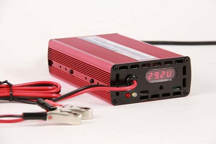 48V-51.2V-58.4V 3A <br> Lithium LiFePO4 LFP Intelligent Battery Charger <br> CE Certified