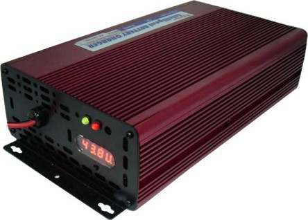 36V 10A <br> Lithium Battery Intelligent Charger <br> LiFePO4 Intelligent Charger <br> CE Certified <br> USA Stock!