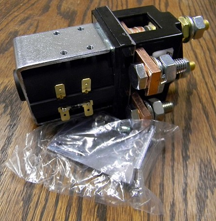 SPDT Single Pole Double Throw<br>400A 12kW EV Contactor Set<br>UL Listed<br>12V DC Coil in USA Stock!