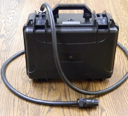 12V 100Ah Black Briefcase Style<br>LiFePO4 Lithium<br>EV-UPS-Bank Battery Pack