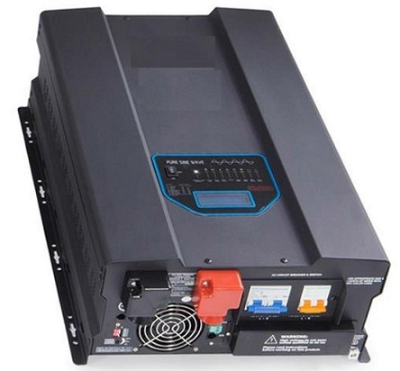 <b>10,000 Watts 10kW</b> Pure Sine Wave<br>Inverter/Charge Controller<br>48V DC Input<br>120V/240VAC 50Hz 60Hz Output<br>DC to AC Power<br>Lithium or Lead Acid Batteries<br><b>Currently Unavailable</b>