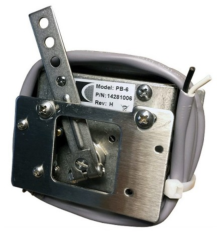 Curtis<br>2 Wire PB-6 Pot Box Throttle<br>EV Controller Component