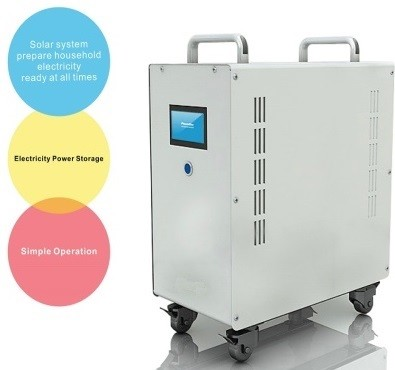 5000 Watts Output <br> 12KWh Storage <br> Complete Residential, Boat, and <br> Light Commercial <br> Battery Storage System <br> With Solar Inverter and Charge Controller
