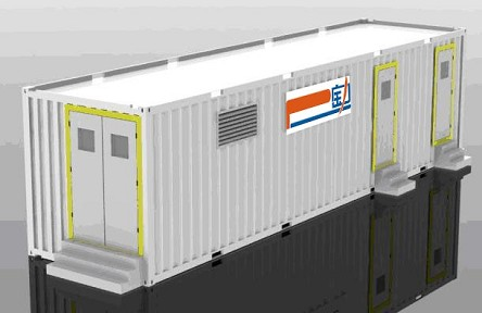 Up to 1MWH 40 ft. Container <br> 350KWH per 20 ft. Container