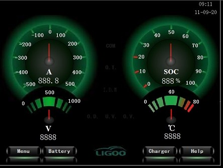 1-60 Batteries Per BMU <br> EV Battery Management System (BMS) <br> Custom Built LIGOO B51A <br> 1-1000 Batteries