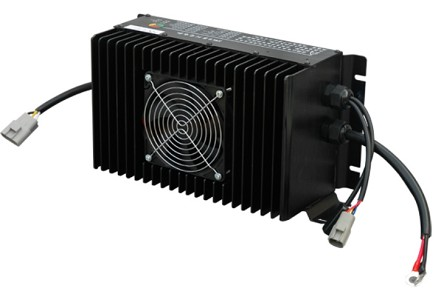 3kW / 3000 Watts <br> 48V 50A, 60V 40A, 72V 35A, <br> 96V 25A, 144V 18A, 288V 9A, <br> 320V 8A, 352V 7A <br> Lithium or Lead-Acid Battery Charger