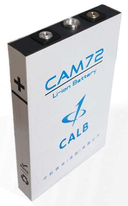 72Ah, 3.2V, 8C<br>CAM72FI<br>CALB EV Lithium LiFePO4 Batteries<br>UL Certified!
