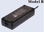 85 Watts 12V 5A, 36V 2A<br>Model R Lithium or Lead-Acid Battery Charger<br>200ea MOQ