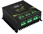 12V, 24V, 36V, or 48V 60A PWM<br>Solar Charge Controller For Lead Acid Battery