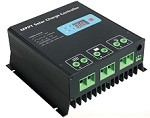 12V or 24V 30A MPPT <br> Solar Charge Controller <br> For Flooded, SLA, AGM, Gel, <br> and Lead Acid Battery Packs