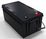 3840 Watts 3.84kW 12V 300Ah <br> EV LiFePO4 Lithium Battery Pack <br> 20.4 * 10.6 * 8.7 in. <br> 520 * 269 * 221 mm <br> 83.1 Lbs. / 37.7 Kg <br> Can be connected in series up to 48 volts.