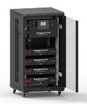 7.6KVA Rack Inverter with 5KWh LiFePO4 Lithium Batteries Energy Storage System