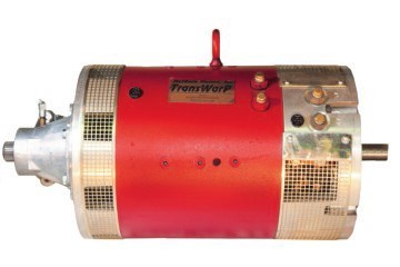 TransWarP 11 EV DC Motor <br> 72-156V, 452A <br> Double ended shaft - advanced timing, 1.125
